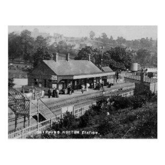 Gå i flisor vykortet för Norton den järnväg Vykort