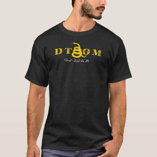 Gå inte på mig den 2nd rättelsen tee shirt