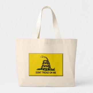 Gå inte på mig Flagga-Förenad stater Tote Bag