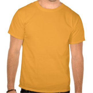 Gå inte på mig tee shirt