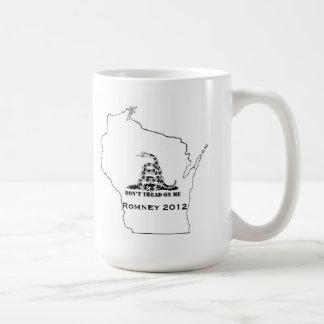 Gå inte på Wisconsin Kaffemugg