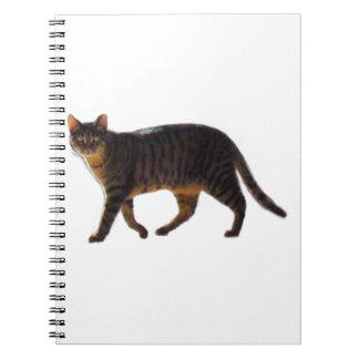 Gå katten anteckningsbok