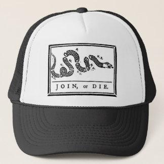 Gå med eller dö ormen keps