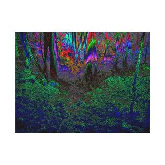 """""""Gå med mig i den mer wilder skogen """", Canvastryck"""
