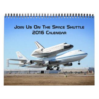 Gå med oss på rymdfärjan kalender