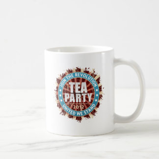 Gå med revolutionen 2012 kaffemugg
