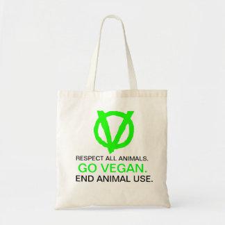 Gå med Veganrevolutionen! GÅR VEGANEN - med logoty Tygkasse