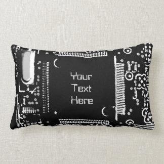 "Gå runt B & W 2"" dekorativ kuddelumbaren för din Lumbarkudde"
