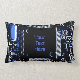 """Gå runt blått 2"""" dekorativ kuddelumbaren för din lumbarkudde"""