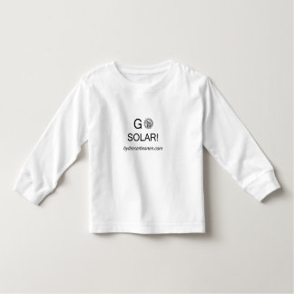 """""""Gå sol-! """"T-tröja för ungar L/S Tee Shirts"""