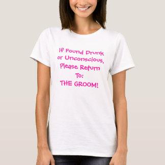 Gå tillbaka till brudgummen t-shirt