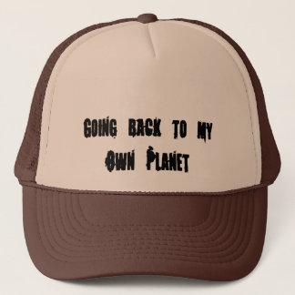 Gå tillbaka till mitt egna planet truckerkeps