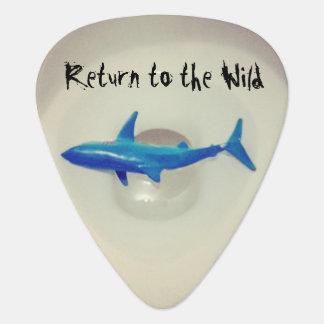 Gå tillbaka till vilden plektrum