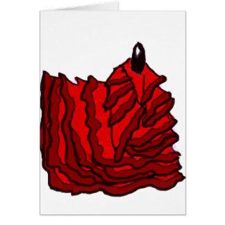 Gå ut ur drömmen - llama del flamenco hälsningskort