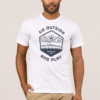 Gå utanför och leka tee shirt