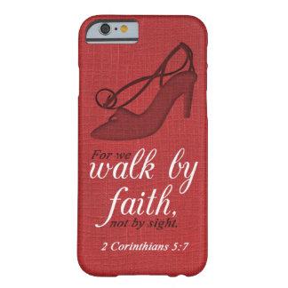 Gå vid för Corinthians5:7 för tro 2 Barely There iPhone 6 Fodral