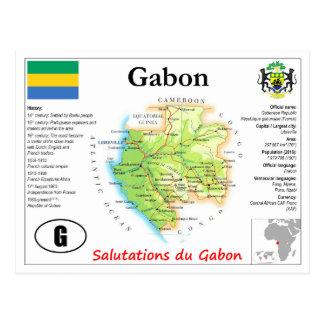 Gabon kartavykort vykort