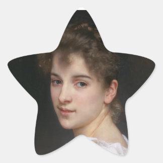 Gabrielle kåta stjärnformat klistermärke
