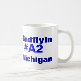 Gadflyin A2 Michigan Kaffemugg