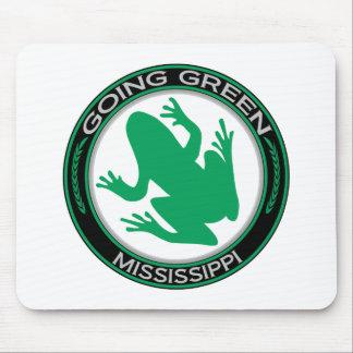 Gående grön Mississippi groda Musmatta