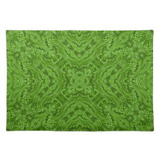 Gående gröna färgrika trasabordstabletter bordstablett