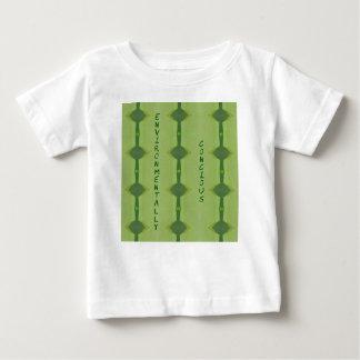 Gående grönt miljömässigt samvete t shirt