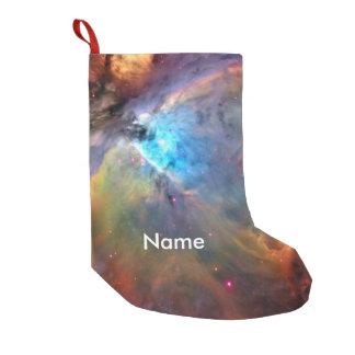 Galax för Orion Nebulautrymme Liten Julstrumpa