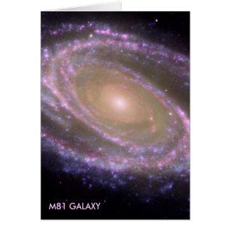 GALAX M81 HÄLSNINGSKORT