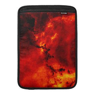 Galaxen avfyrar på sleeve för MacBook air