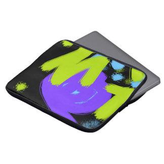 Galaxkonst målar laptop sleeve