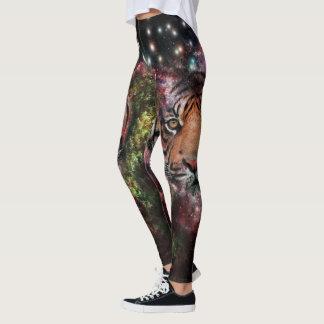 Galaxtigerdamasker Leggings