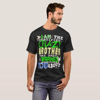 Galen broder för rolig auktoriserad t shirts