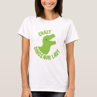 Galen Dinosaurdam (i en cirkla) Tee Shirts