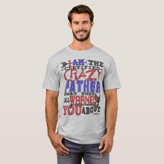 Galen far för rolig auktoriserad tee shirt