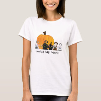 Galen kattdam Halloween T-shirt