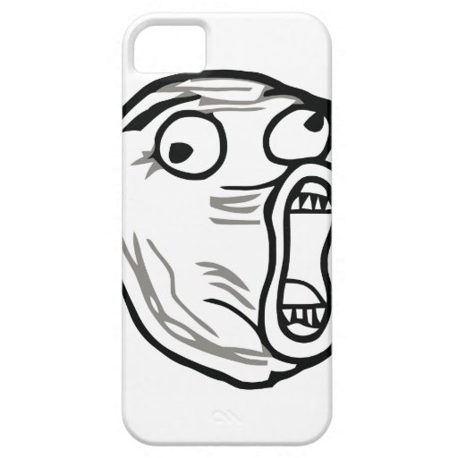 Galen Lol tecknad Meme iPhone 5 Case-Mate Fodraler