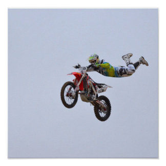 Galen Motocross Poster