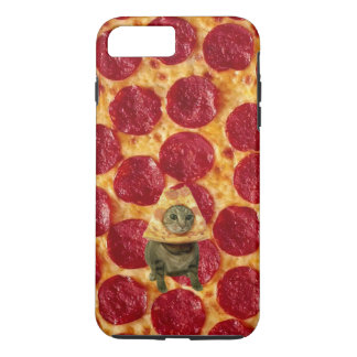 Galen peperoniPizza och Pizzakatt