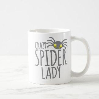 Galen spindeldam kaffemugg