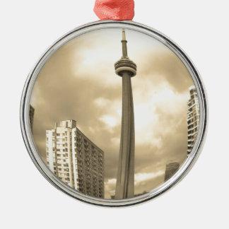 Galen Toronto horisont Julgransprydnad Metall