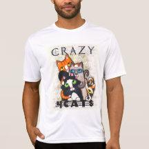 Galet för kattmanar skjorta tee shirts