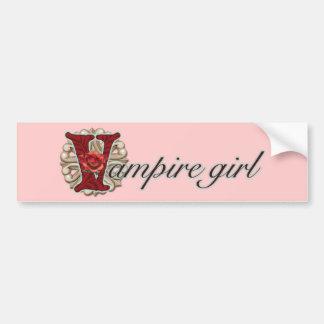 Galet för vampyrer bildekal