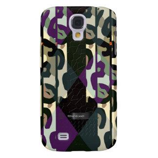 Galet kallt Cheetahtriangelmönster Galaxy S4 Fodral