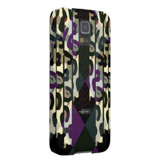 Galet kallt Cheetahtriangelmönster Galaxy S5 Fodral