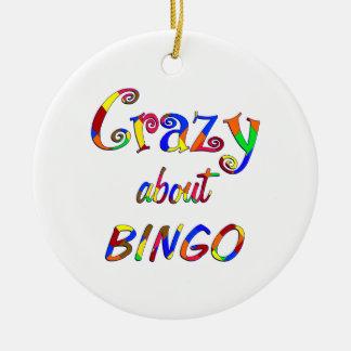 Galet om Bingo Julgransprydnad Keramik