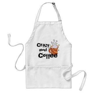 Galet om kaffe förkläde