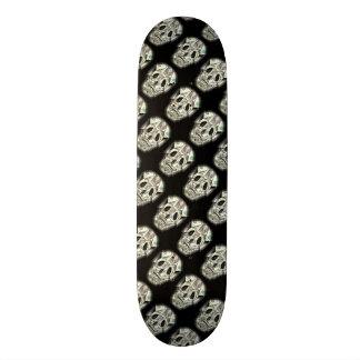 Galet skallemönster mini skateboard bräda 18,5 cm