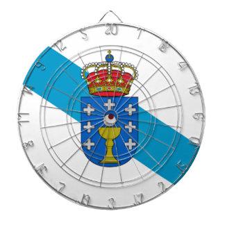 Galicia (Spanien) flagga Darttavla