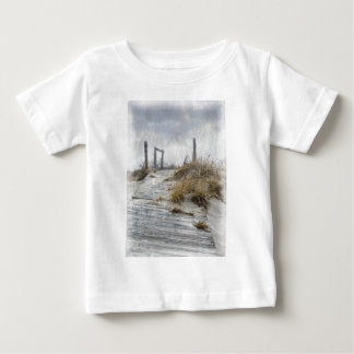 Galilee i vinter t shirts