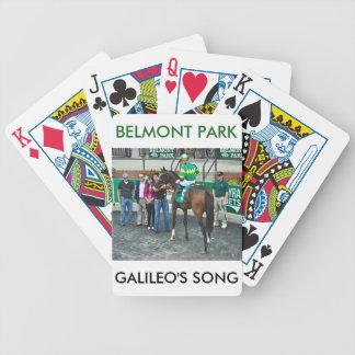 Galileos sång spelkort